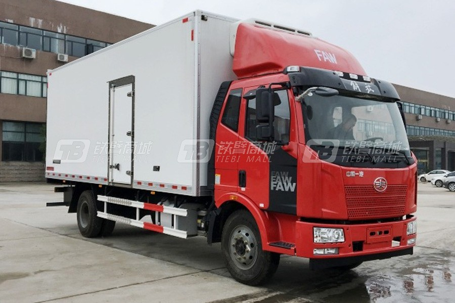 程力专汽CA5160XLCP62K1L5A2E5解放J6L冷藏车(厢长7.5