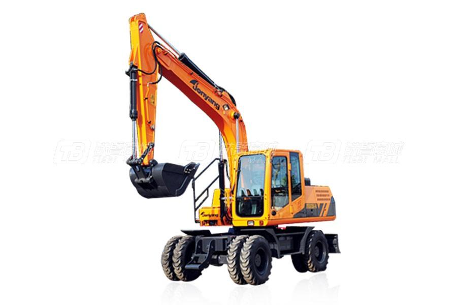 詹阳重工JYL615E-N轮胎式挖掘机
