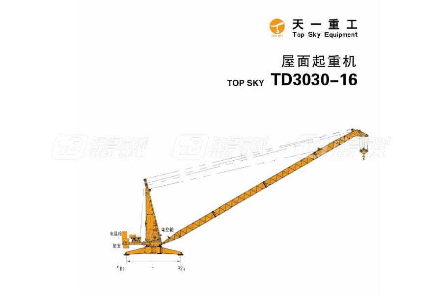 天一重工TD3030-16T塔式起重机
