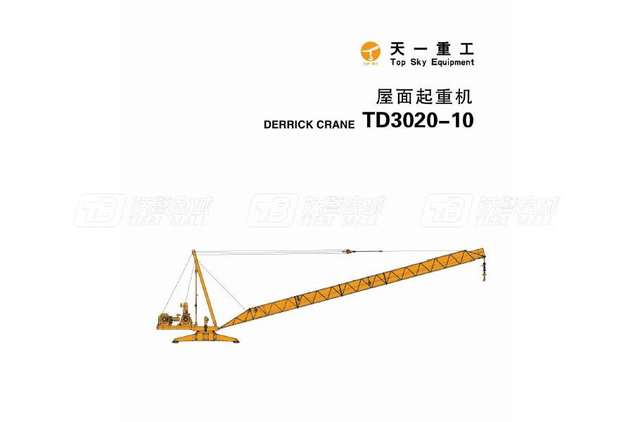 天一重工TD3020-10T塔式起重机