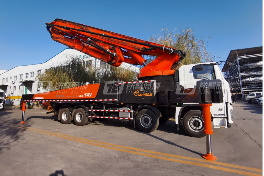 中青林重庆五十铃63米混凝土泵车