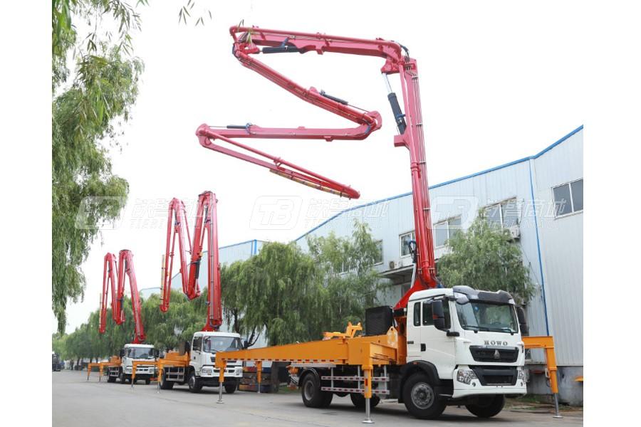 中青林KNL5202THB 35-5RZ重汽汕德卡50米泵车