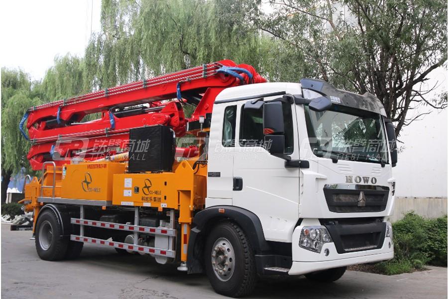 中青林KNL5203THB30-4M重汽豪沃30米泵车