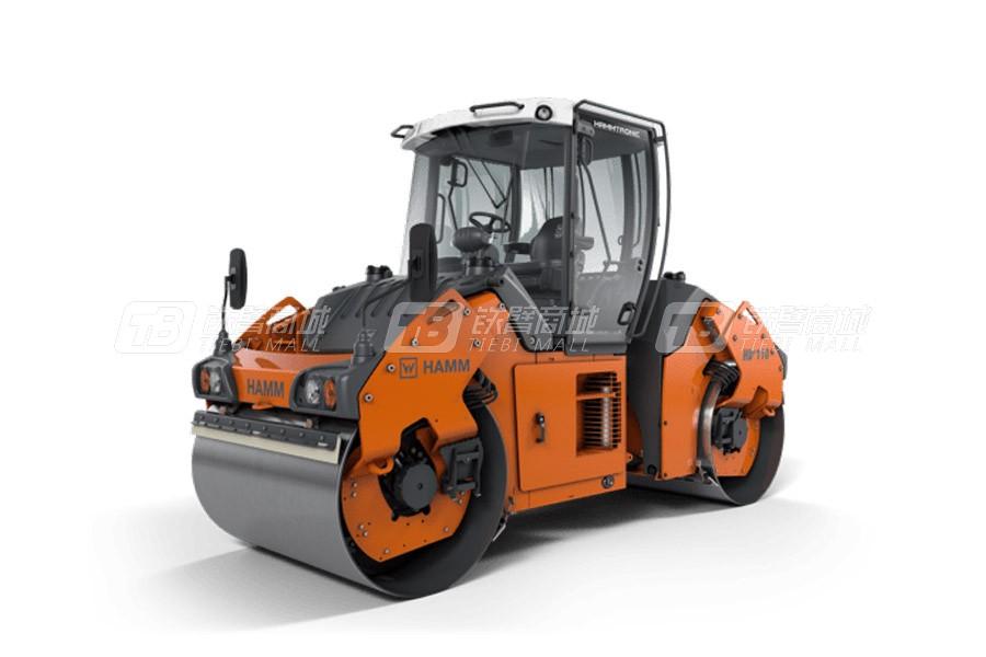 维特根HD + 110 VV双钢轮压路机