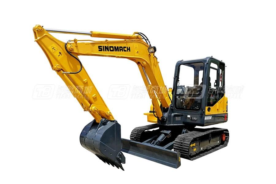 常林公司GE65H履带挖掘机