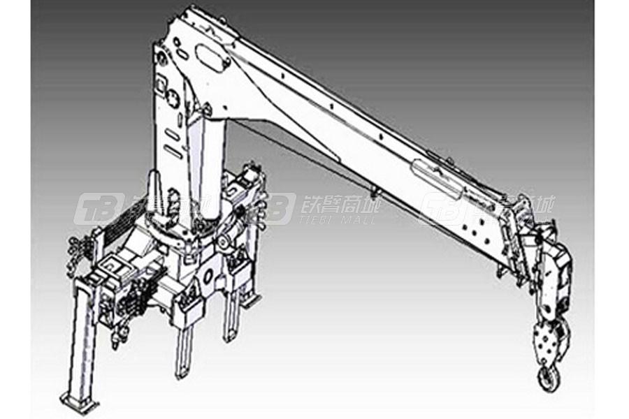 常林公司SQ10直臂伸缩式随车起重机