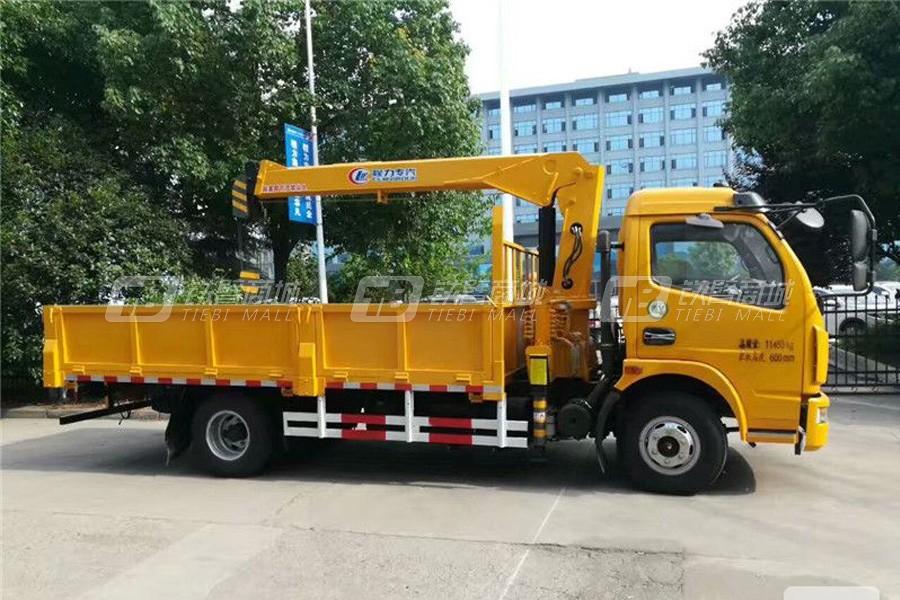程力专汽东风多利卡3.2吨随车起重机