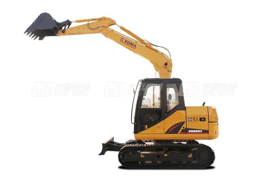 厦工XG808F履带挖掘机