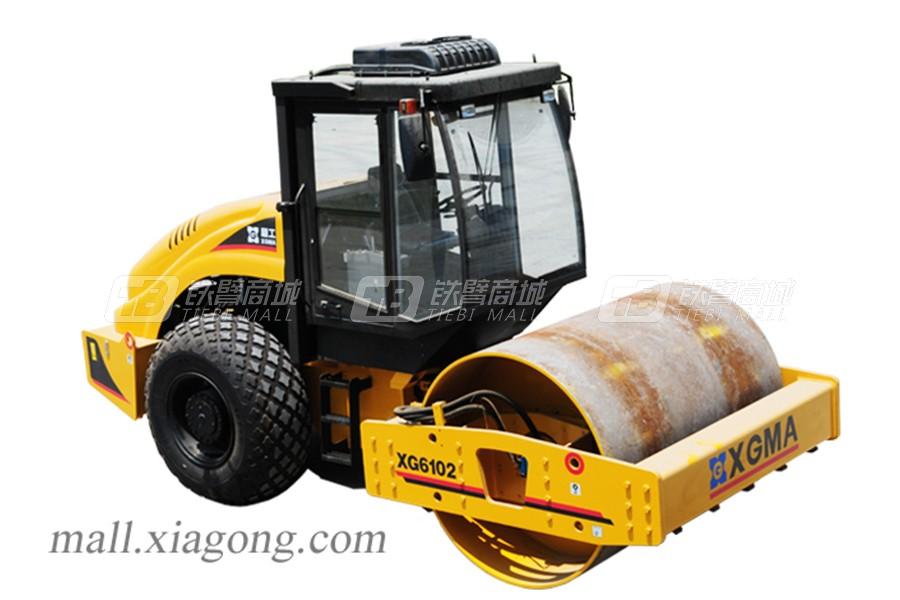 厦工XG6102单钢轮压路机