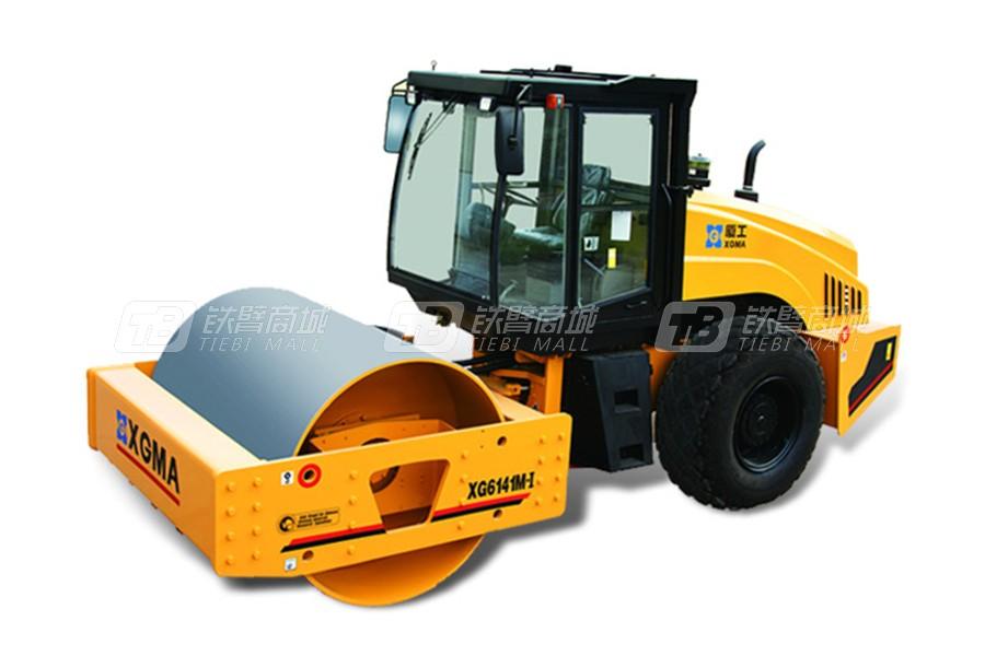厦工XG6141M-I机械式单钢轮压路机