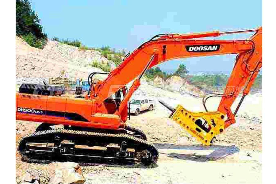 广韩机械GHB4500液压破碎锤