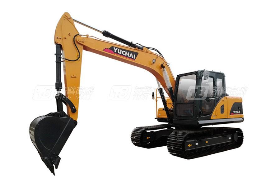 玉柴YC150-9履带挖掘机