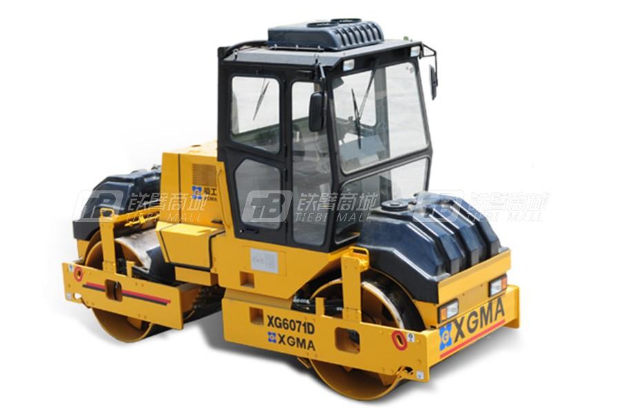 厦工XG6071D双钢轮压路机