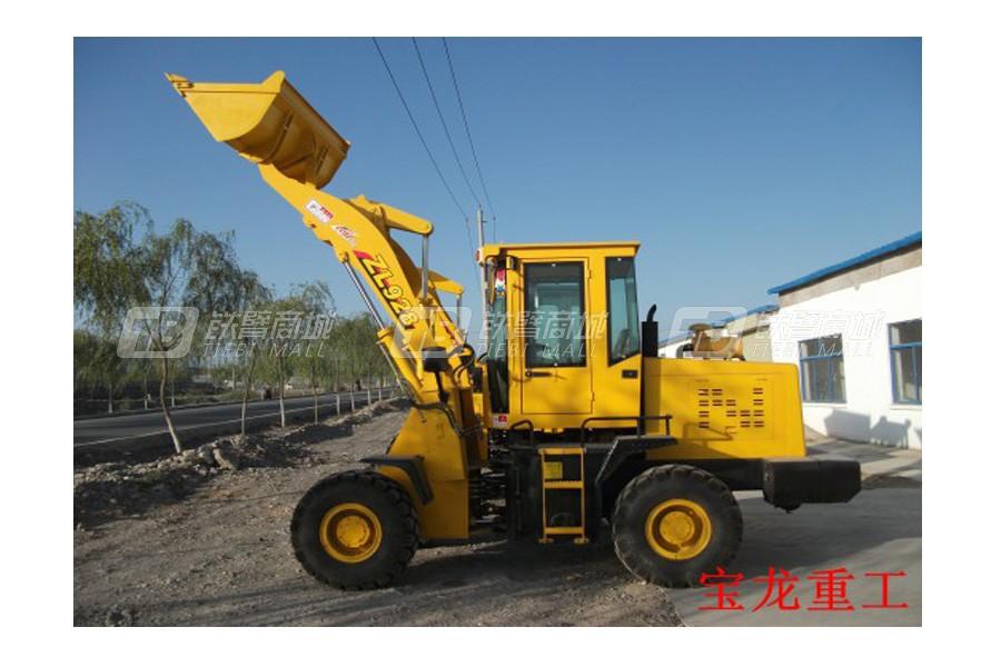 甘肃宝龙ZL12轮式装载机