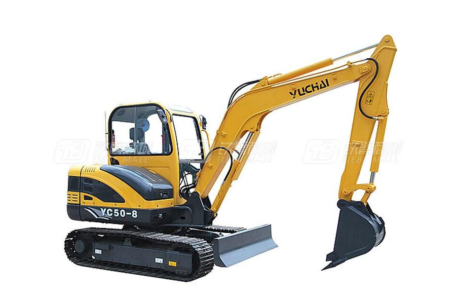 玉柴YC50-8履带挖掘机