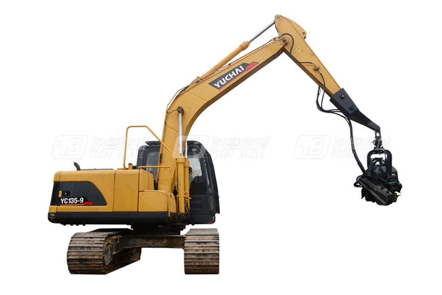 玉柴YCF135履带挖掘机