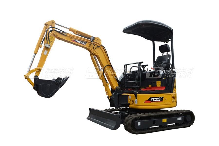 玉柴YC22SR履带挖掘机