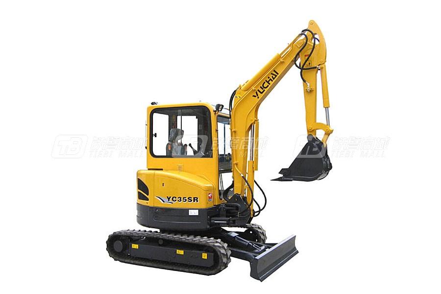 玉柴YC35SR履带挖掘机