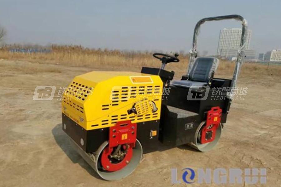 隆瑞LRY15双钢轮压路机