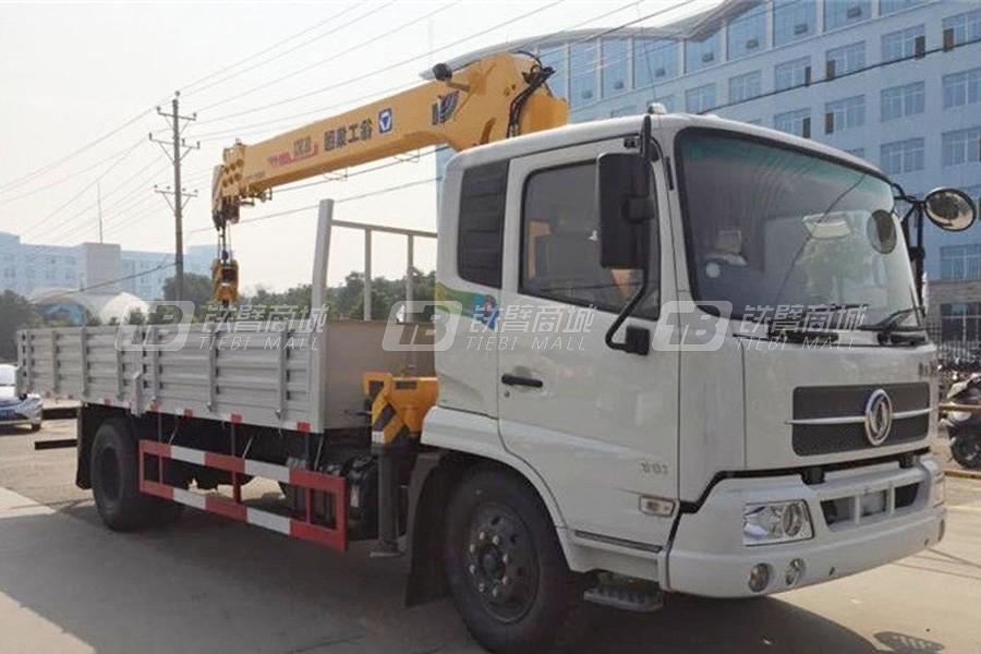 程力专汽东风天锦6.3吨随车起重机
