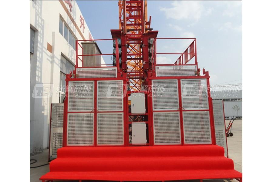 顶实机械BPGSSC200/200(中速变频)施工升降机
