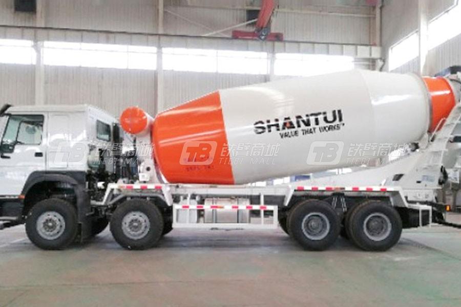 山推SDX5318GJBE1混凝土搅拌运输车