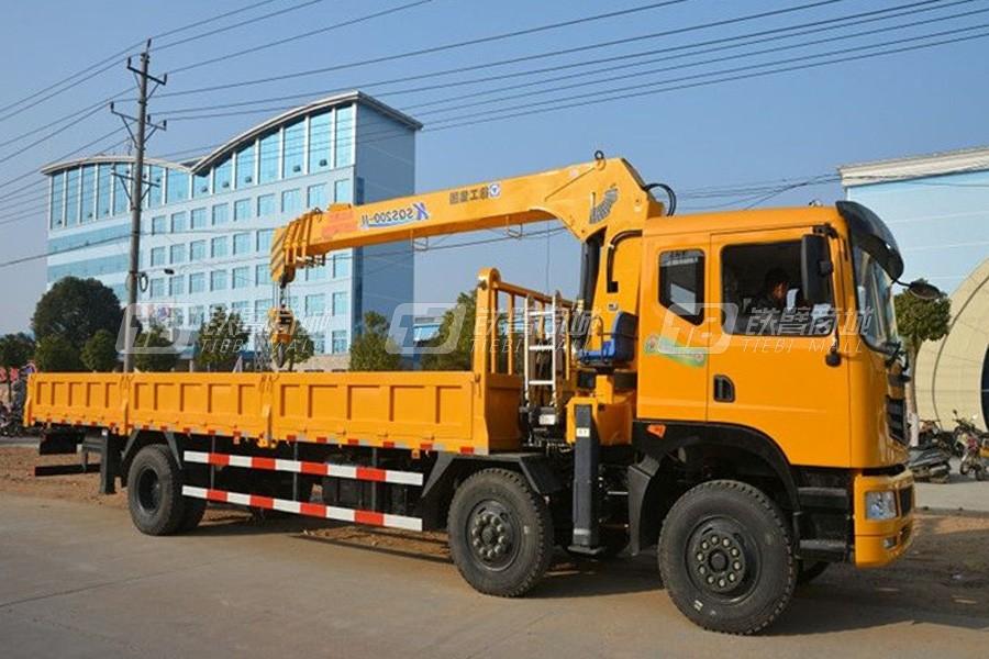 程力专汽东风小三轴8吨随车起重机