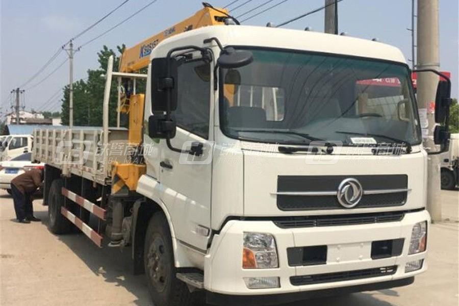 程力专汽DFH5180JSQBX1DV东风天锦7吨随车吊(徐工吊机)