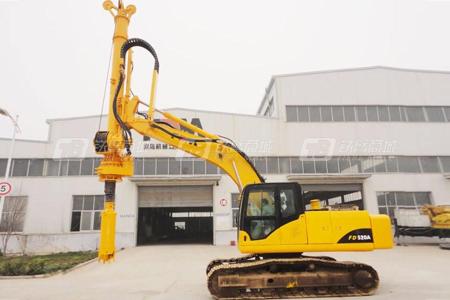 郑州富岛FD520G全液压旋挖钻机