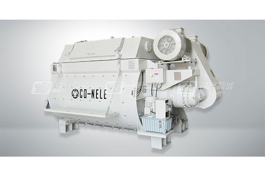 青岛科尼乐CHS4500双卧轴混凝土搅拌机