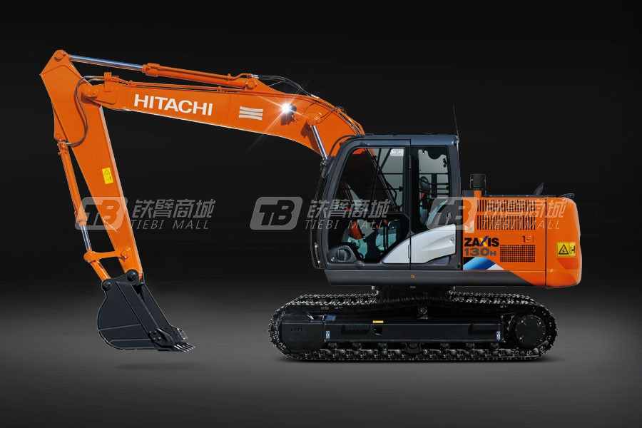 原装日立ZX130H-5A履带挖掘机
