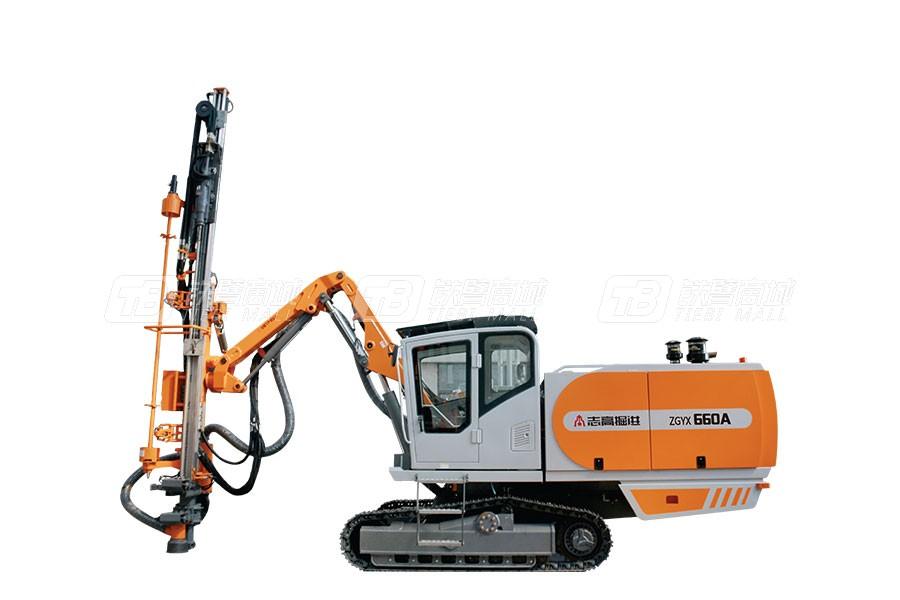 浙江志高ZGYX-660A中型自动一体式露天顶锤钻机