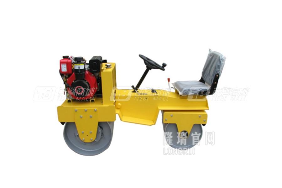 隆瑞LRY850双钢轮压路机