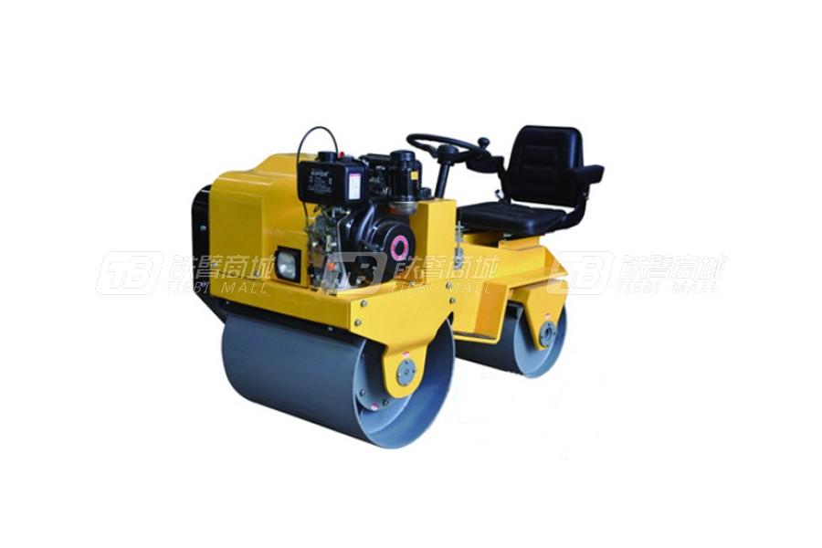 隆瑞LRY850C双钢轮压路机