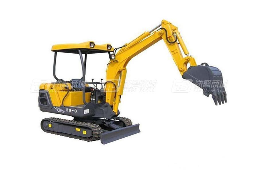 东力DL20-8履带挖掘机
