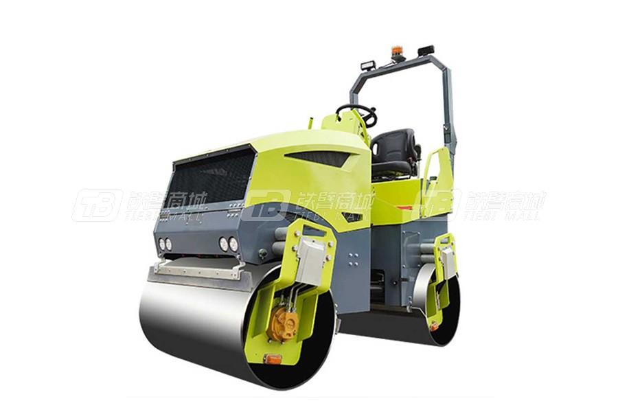 奔马BMY-3000小型座驾式压路机