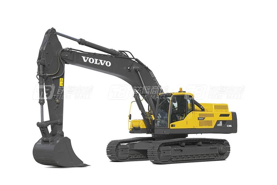 沃尔沃EC350D大型履带式挖掘机