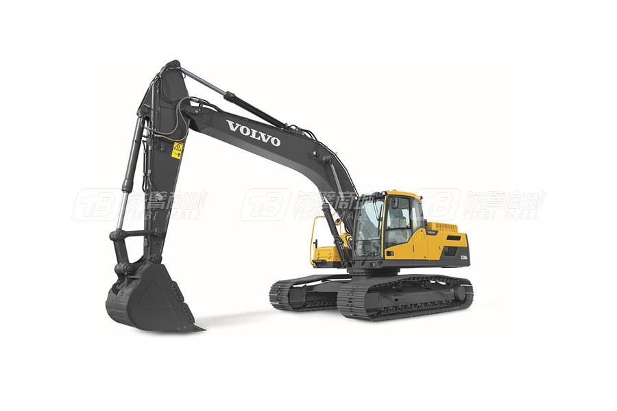 沃尔沃EC250DL大型履带式挖掘机