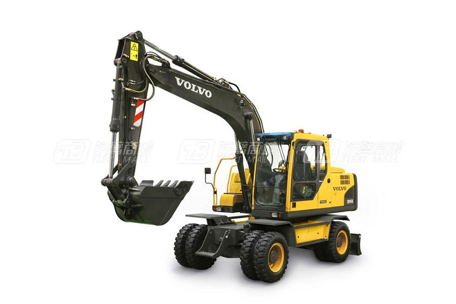 沃尔沃EW145B Prime中型轮式挖掘机