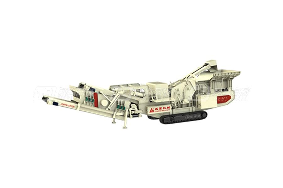 磊蒙机械LDPFG1313R履带反击式移动破碎站