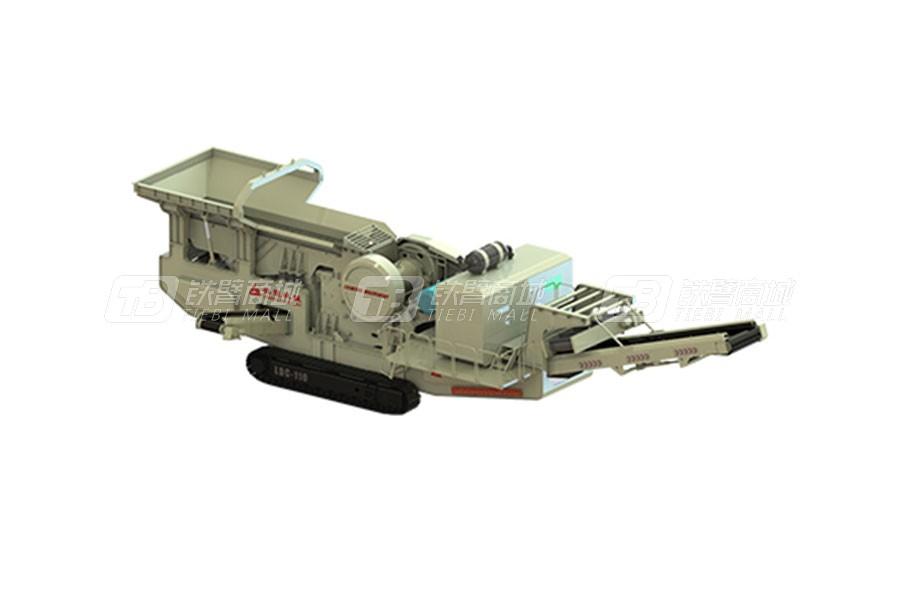 磊蒙机械LDC80履带颚式移动破碎站