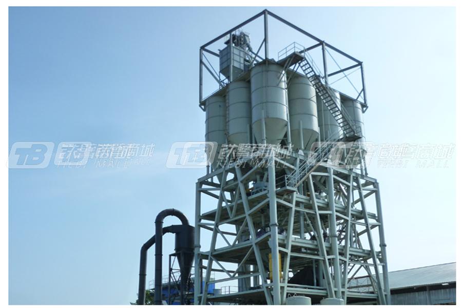 陕西科尼乐GSW4000塔楼式干粉砂浆生产线