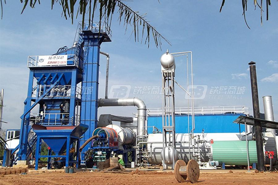 陆德筑机LD105沥青混合料搅拌设备