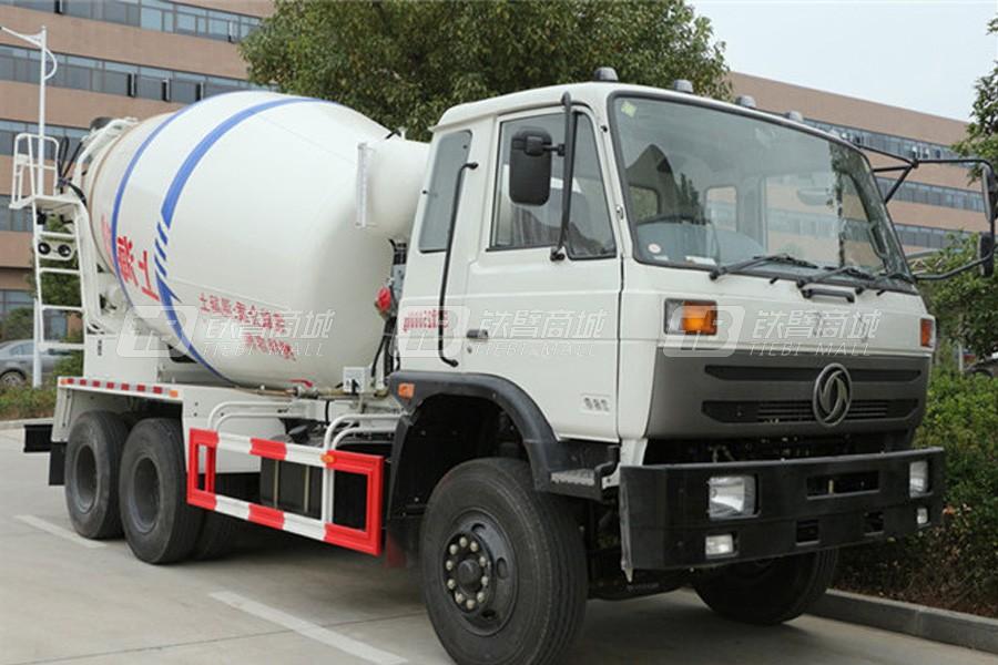 程力专汽EQ5250GJBLV东风153-10方搅拌车