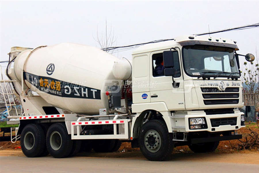 程力专汽陕汽德龙8方混凝土搅拌运输车