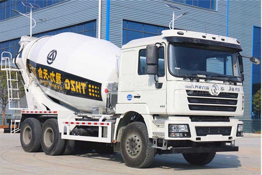 程力专汽陕汽德龙12立方混凝土搅拌运输车