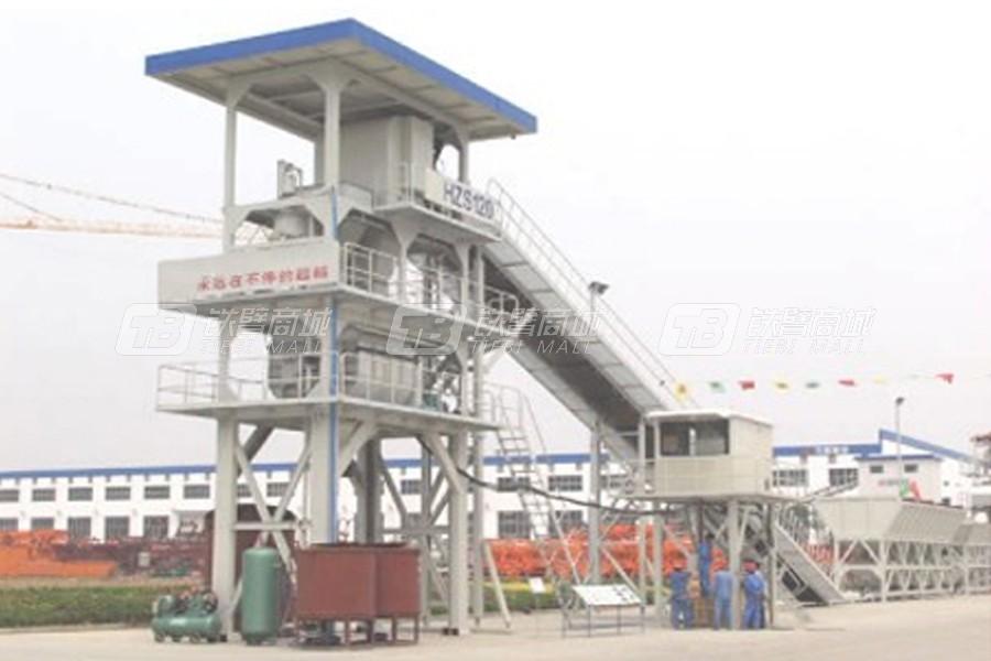 立杰机械HZS120商品混凝土搅拌站