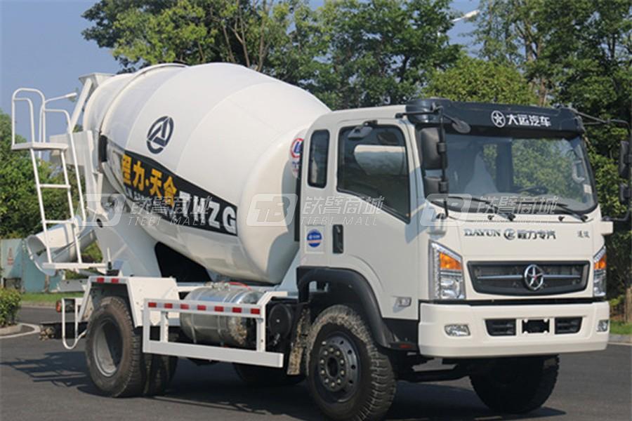 程力专汽大运运途6方混凝土搅拌运输车