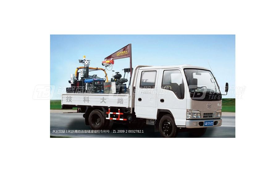 新公LD-C1000D车载式开槽灌缝成套设备