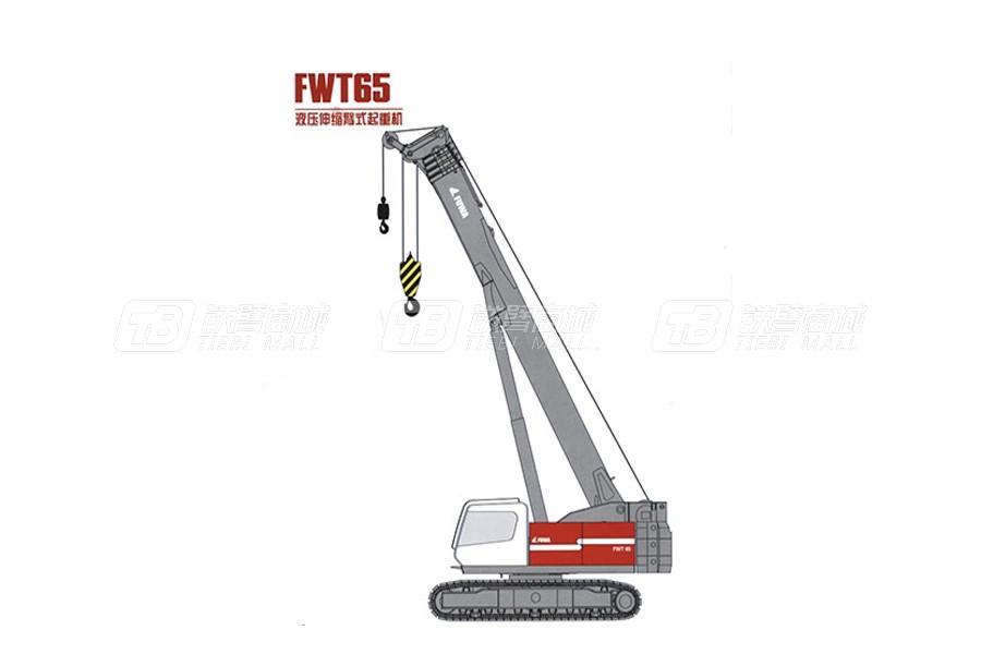 抚挖重工FWT65液压伸缩臂式起重机